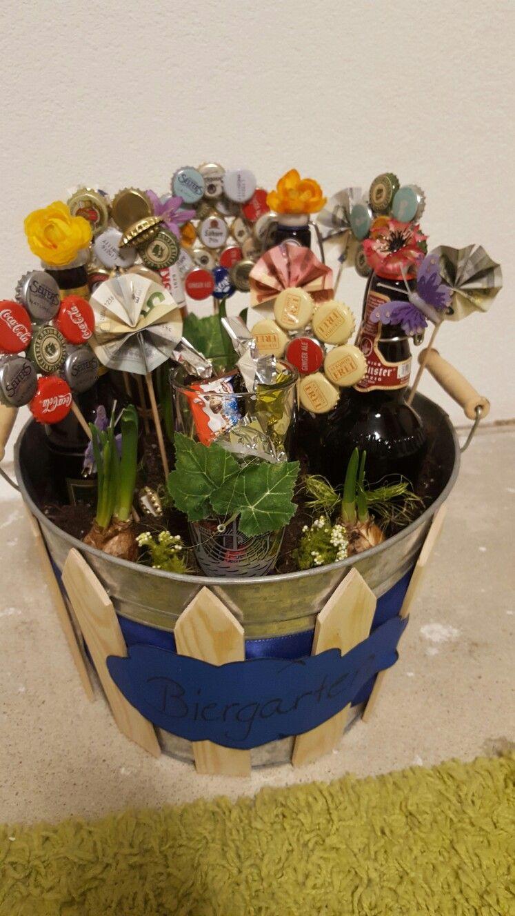 Biergarten geschenk 30 geburtstag basteln for Geschenk zum 25 geburtstag selber machen