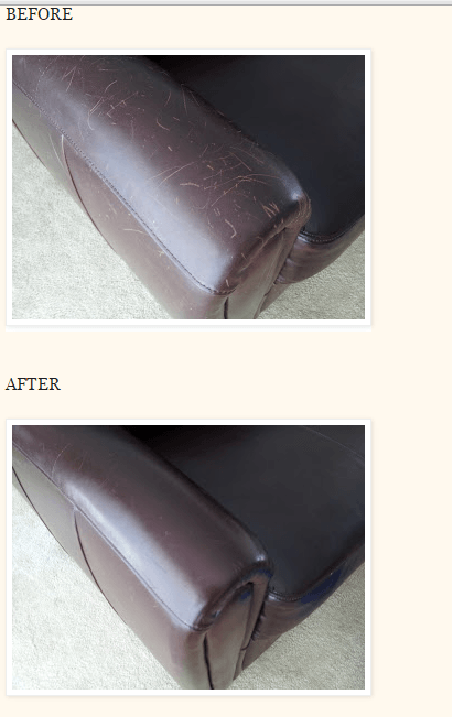 How To Remove Scratches From Leather Helpful Household