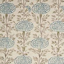 Lisa Fine Samode Indigo Fabric Wallpaper Textile Patterns Fabric