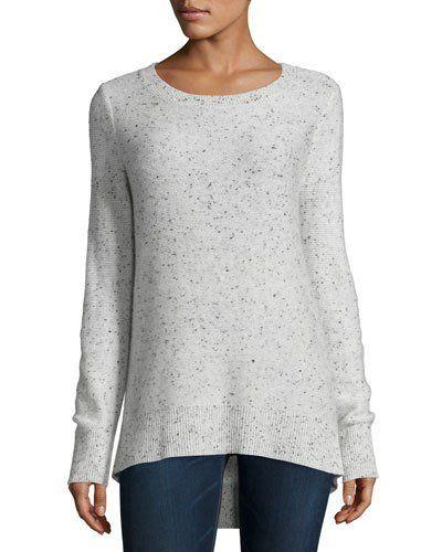 RAG & BONE Tamara Melange Cashmere Sweater, Light Gray. #ragbone ...