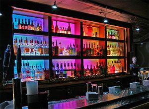 lighting for bars. bespoke bar lights prismatic shades mirage steak restaurant creative lighting pinterest for bars