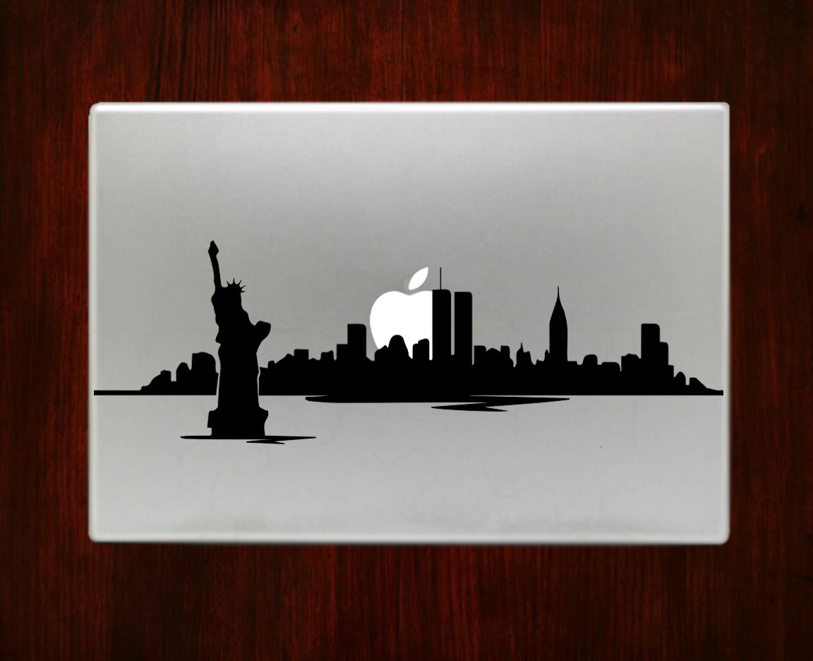 New York Skyline Skyscraper Decal Sticker Vinyl For