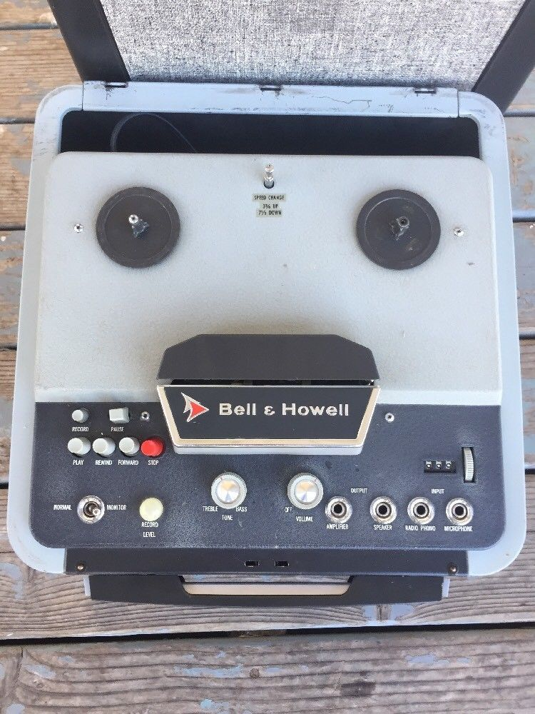 Bell Howell 785 Reel To Reel Tape Recorder Player Vintage 1957