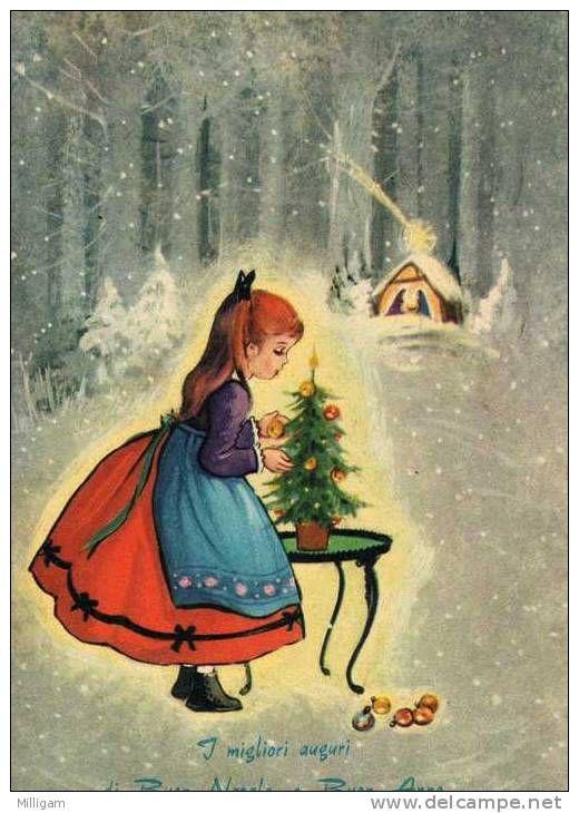 Il natale in versione vintage, con gli scatti in bianco e nero e le cartoline d'epoca in una gallery tutta da sfogliare e condividere! I Migliori Auguri Di Buon Natale E Buon Anno Delcampe Net Buon Natale Natale Cartoline Di Natale