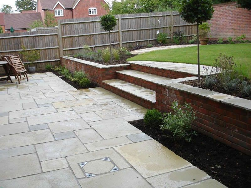 Large and varied garden design portfolio from garden design company