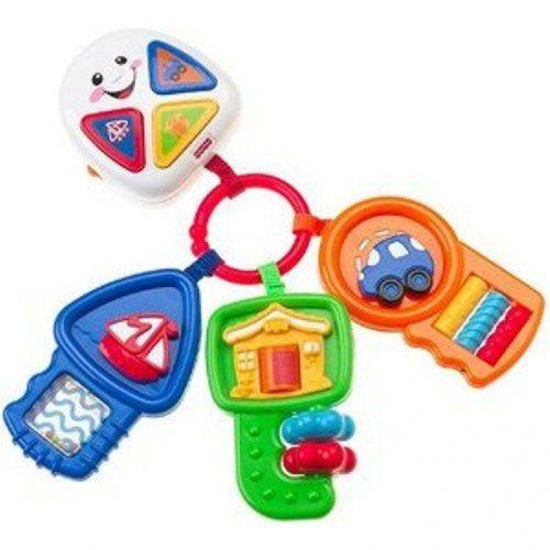 Fisher Price set 3 chei muzicale contin activitati ce familiarizeaza copilul cu invatatura de baza şi cunoasterea experimentala.