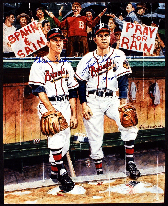 Praying For Rain Braves Baseball Milwaukee Baseball Baseball History