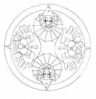 Mandalas Para Pintar Mandala Gyerekeknek Mandalas Para Colorear