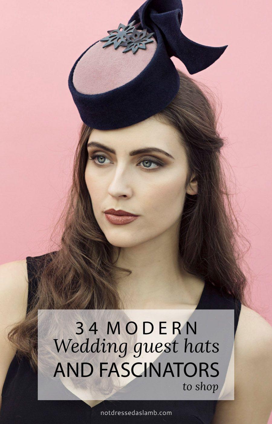 34 Modern Wedding Guest Hats and Fascinators Wedding Guest Hats 94d4a16fb80