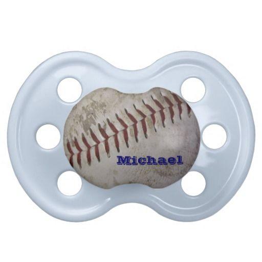Personalized baby boy future baseball player pacifier boys babies personalized baby boy future baseball player pacifier negle Images