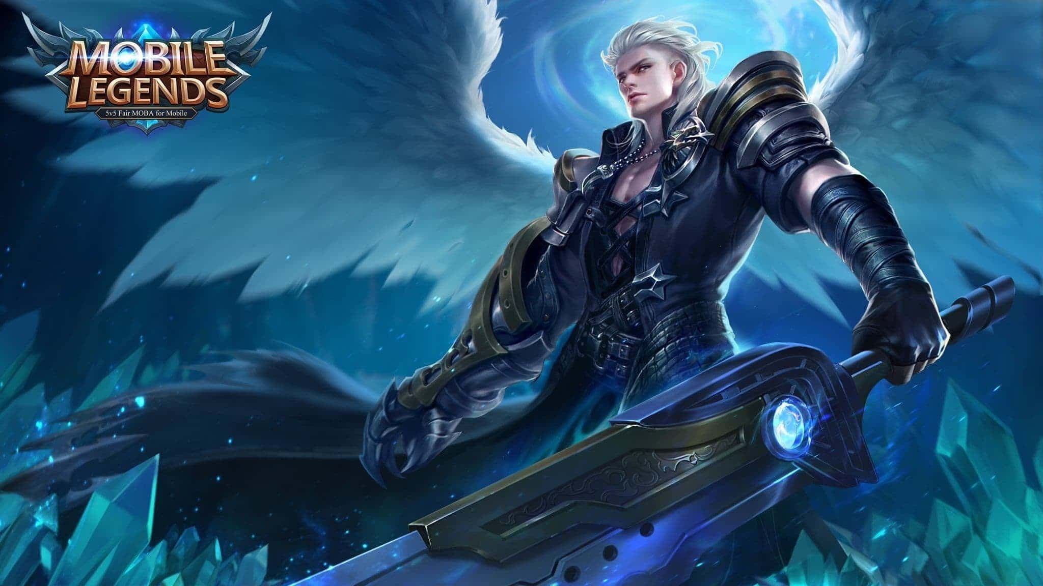 Alucard Alucard Wings Angel Game Man Mobile Legends Fantasy White Blue 1080p Wallpaper Hdwallpaper Deskt Gambar Desain Karakter Game Orang Animasi Hd 1080p mobile legend hd wallpaper