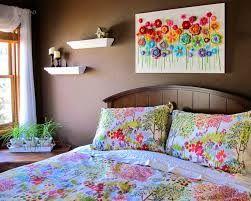 Resultado de imagem para quadro de flor colorido