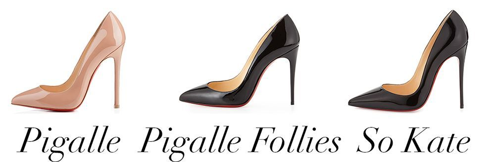 What's the difference between Louboutin's Pigalle Follies