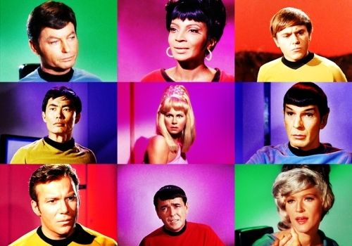 Tos Is Colour Tos Is Love Star Trek Star Trek Cast Trek