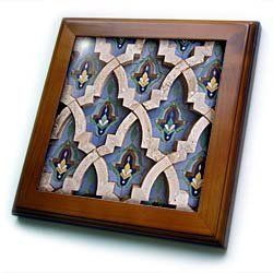 "Al-Hassan II mosque, Casablanca, Morocco-AF29 WSU0020 - William Sutton - 8x8 Framed Tile by 3dRose. $22.99. Solid wood frame. Dimensions: 8"" H x 8"" W x 1/2"" D. Keyhole in the back of frame allows for easy hanging.. Cherry Finish. Inset high gloss 6"" x 6"" ceramic tile.. Al-Hassan II mosque, Casablanca, Morocco-AF29 WSU0020 - William Sutton Framed Tile is 8"" x 8"" with a 6"" x 6"" high gloss inset ceramic tile, surrounded by a solid wood frame with pre-drilled keyho..."