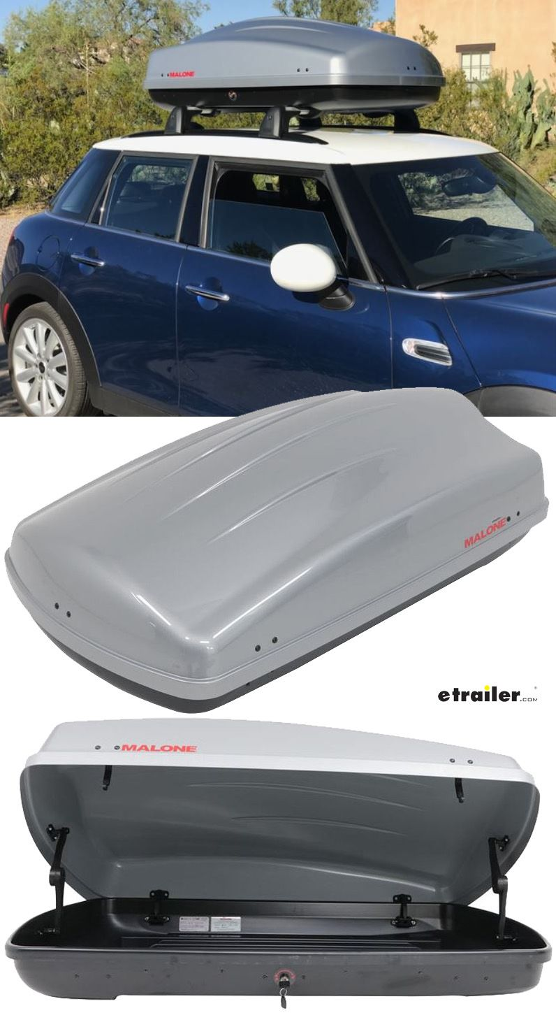 The Malone Cargo Rooftop Cargo Box With 12 Cubic Feet Of Space You Can Also Fit Your Camping Gear Your Sporting Good Roof Box Traveling By Yourself Small Cars
