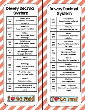 photo relating to Dewey Decimal System Printable Bookmarks referred to as Dewey Bookmarks Freebie Library Bookmarks, Fundamental
