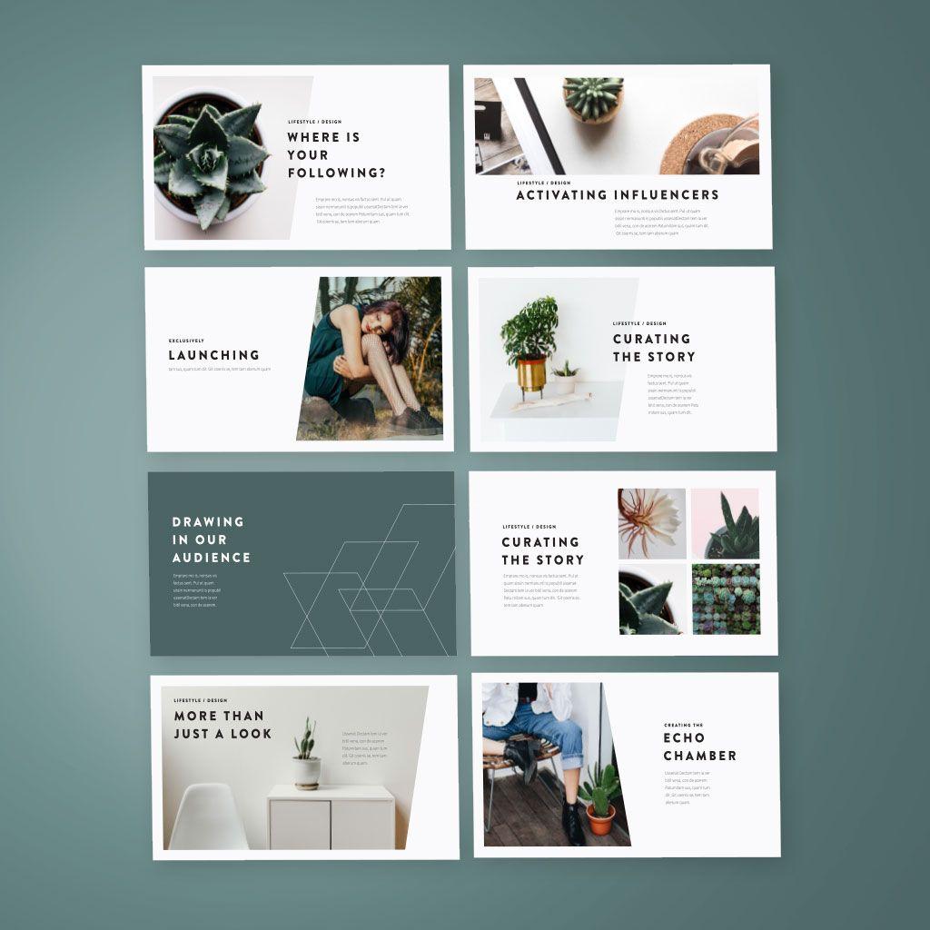 modern visual template x 12 00 design pinterest presentation