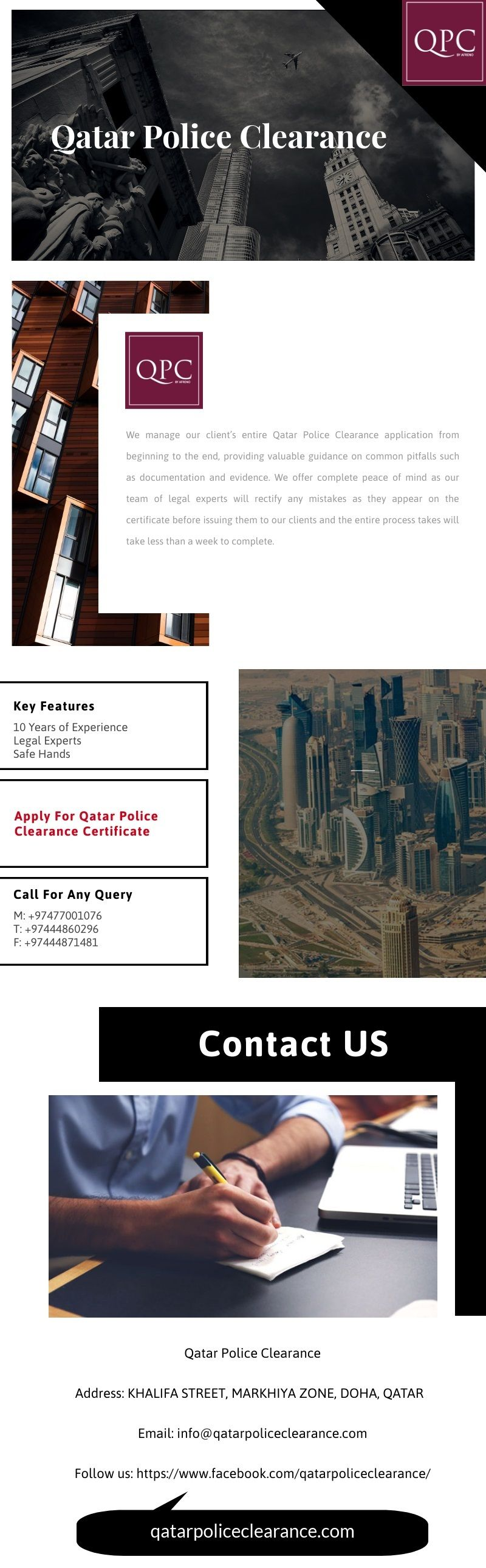 Qatar Police Clearance is a leading Qatar consultancy company