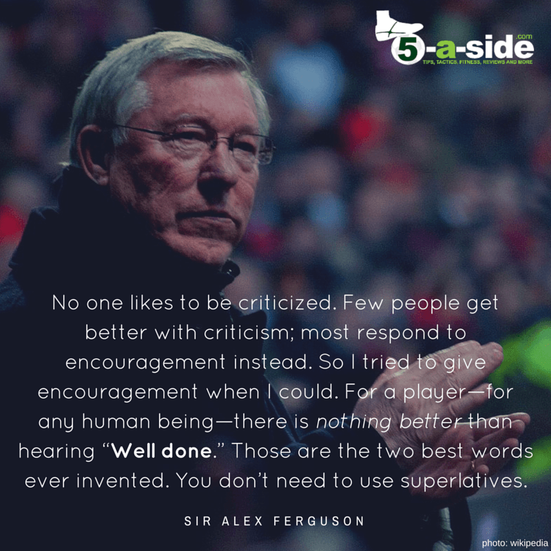 Sir Alex on Motivation