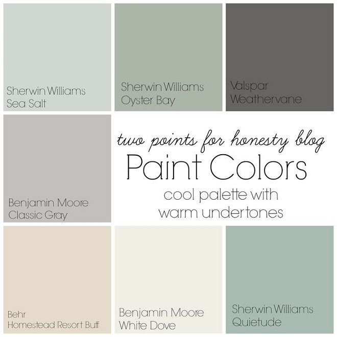 Transitional Paint Color Palette Color Palette Monday 3: Image Result For Quietude Sherwin Williams