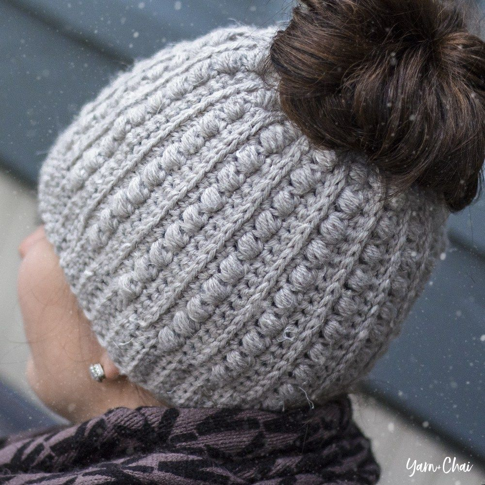 Malia Messy Bun Beanie Hats Pinterest Häkeln Stricken And