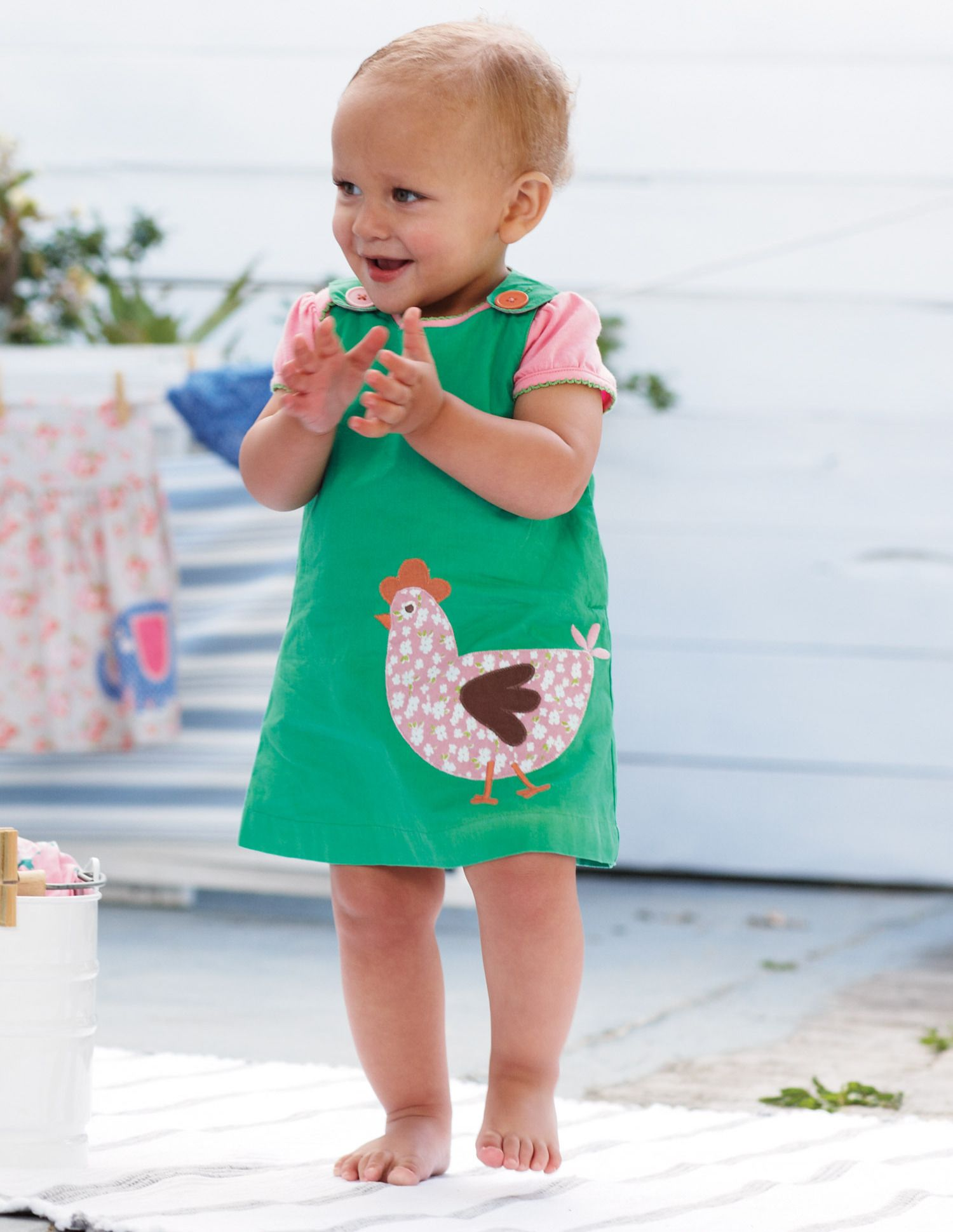 Oh lord now another place for cute baby clothes Boden Appliqué