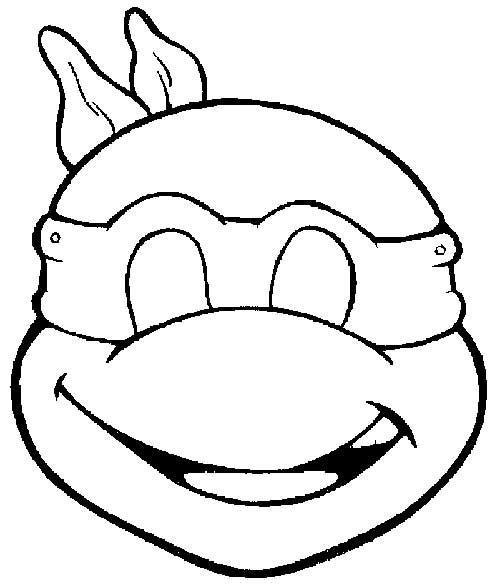 49 Desenhos Das Tartarugas Ninja Para Pintar Colorir Mascaras