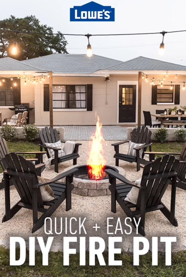 Photo of Transform your backyard into an outdoor oasis with Lowe's. Discover everything…
