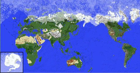 Minecraft Complete Earth Map - minecraft adventure maps  Full Earth - copy flat world survival map download