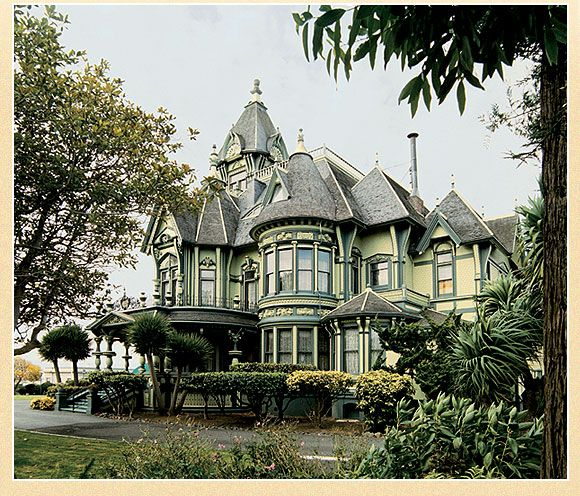 The Carson Mansion, Constructed In 1884-1885, Is A Three