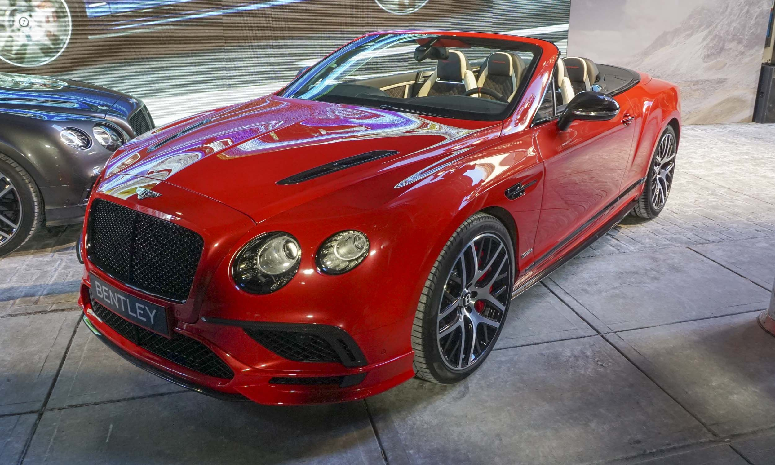 Delightful Bentley Has No Display At The 2017 North American International Auto Show,  But That Didnu0027t Stop The .