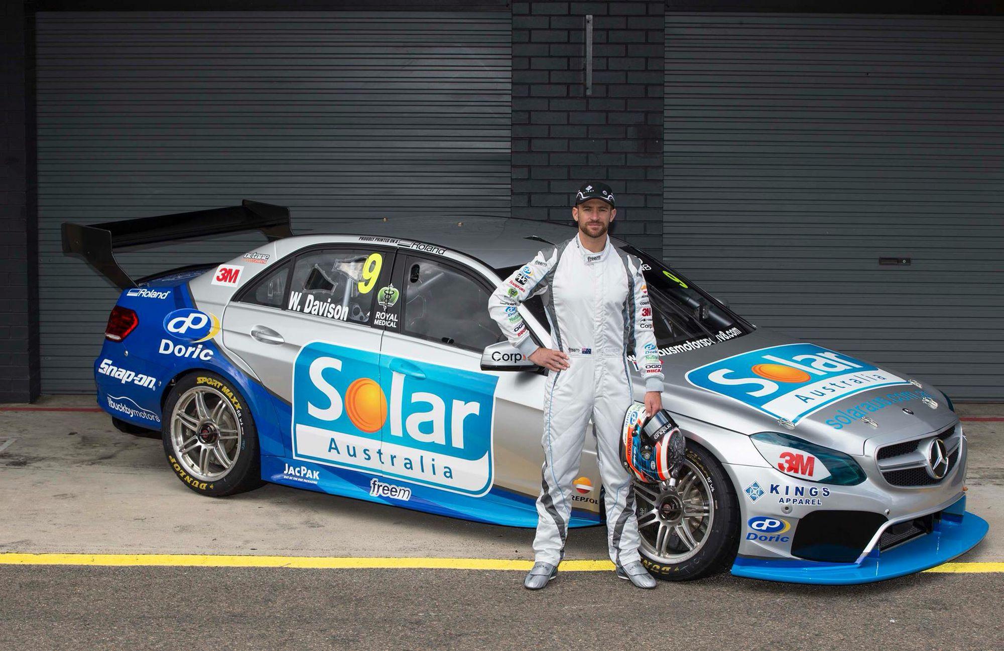 Will Davidson 9 New Car In 2015 V8 Supercars Australia New Cars Super Cars