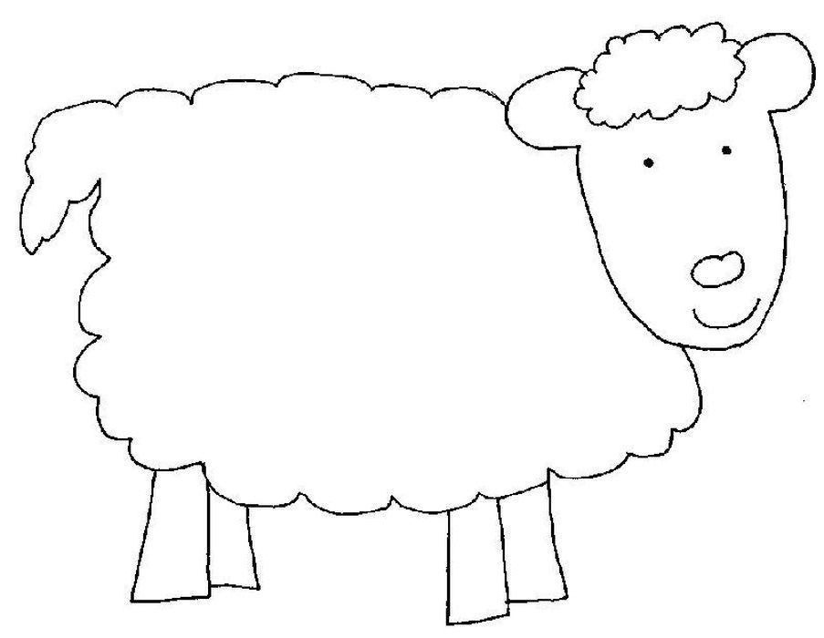 Baa Baa Black Sheep Coloring Pages From Funny Sheep Coloring Pages