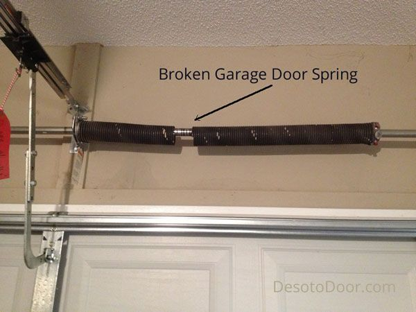 Best Garage Door Spring Repairs Hac0 Com Broken Garage Door Spring Broken Garage Door Garage Door Spring Repair