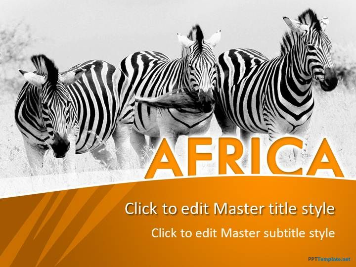 Free africa ppt template animal ppt templates pinterest ppt animal free africa ppt template toneelgroepblik Images