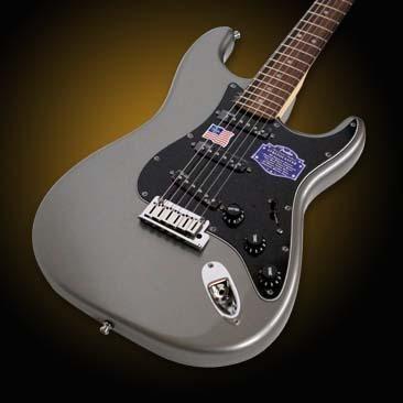 Hello Music: Fender Guitar American Deluxe Strat - RW/Tungsten