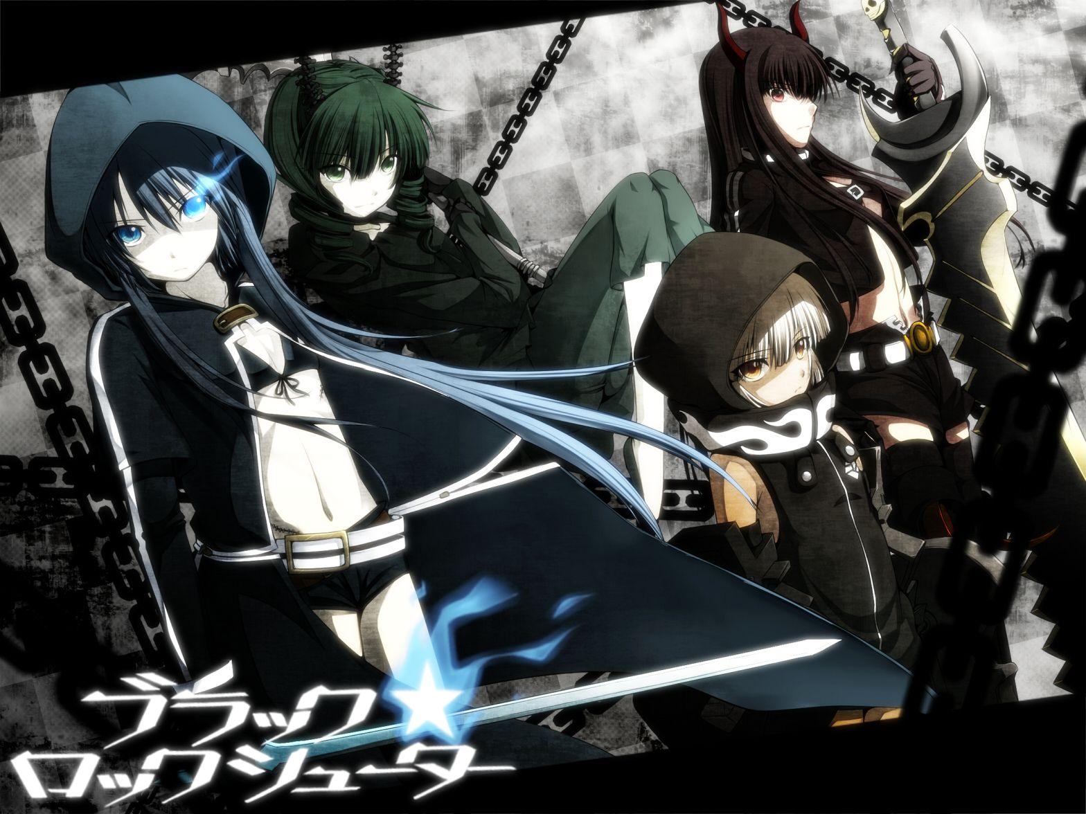 Brs Vs Wrs Black Rock Shooter Photo Fanpop - Anime black rock shooter black rock shooter ova anime