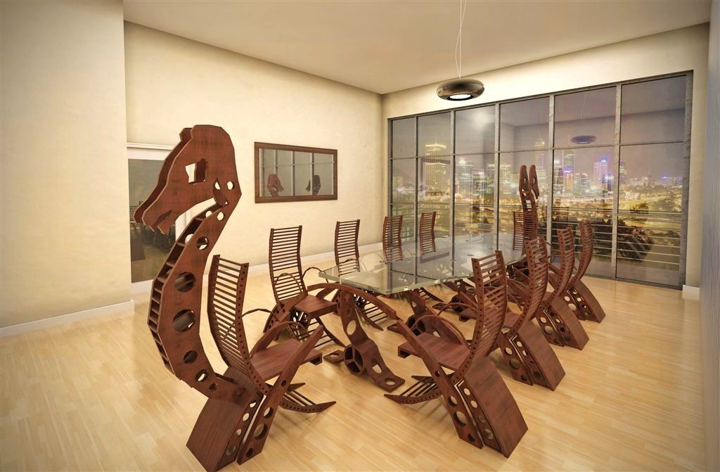 Viking Longboat Conference Table Vikings, Stuffing and Interiors
