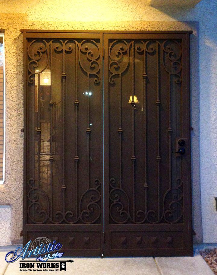 Corsica Wrought Iron Patio Security Doors Model