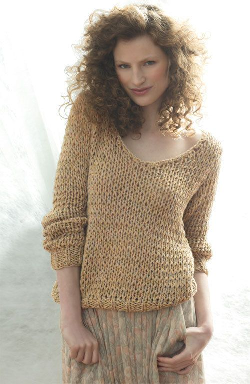 modele tricot pull coton femme