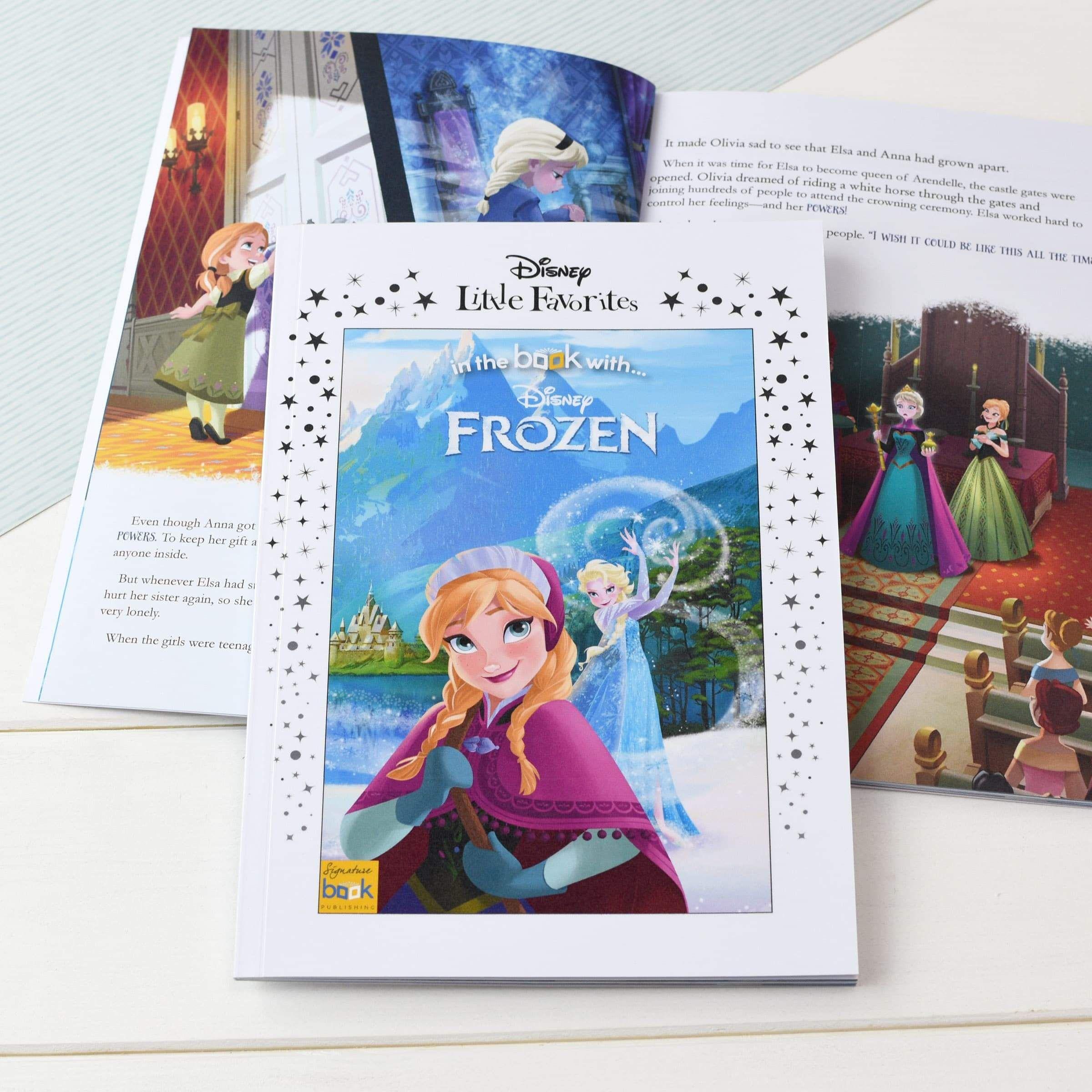 Disney Little Favorites Frozen Personalized Book for Kids   Custom Toddler Book