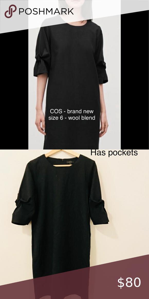 🆕 NWOT COS wool blend dress