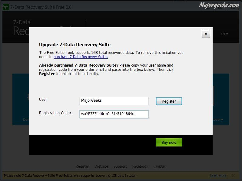 data recovery free software with serial key