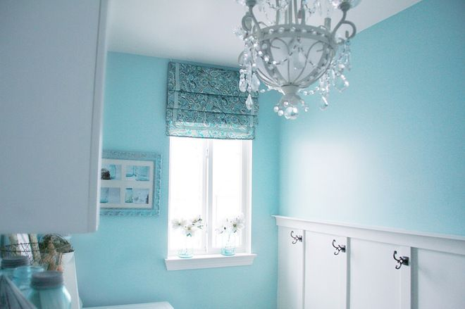 Designs for Living: Cheerful Laundry Rooms