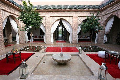 Riad jawad galerie photos 2 fontaine riad riad marrakech