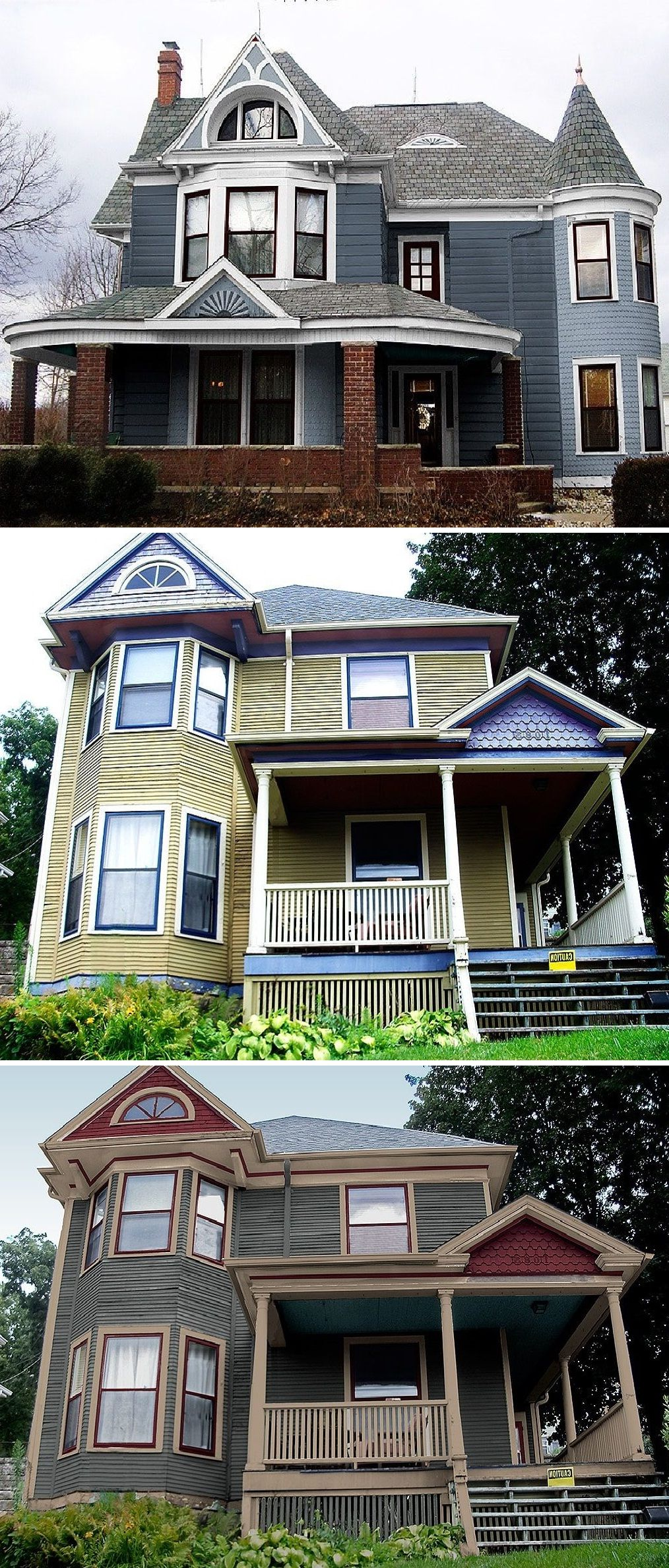 Exterior Paint Color binations for Older Homes