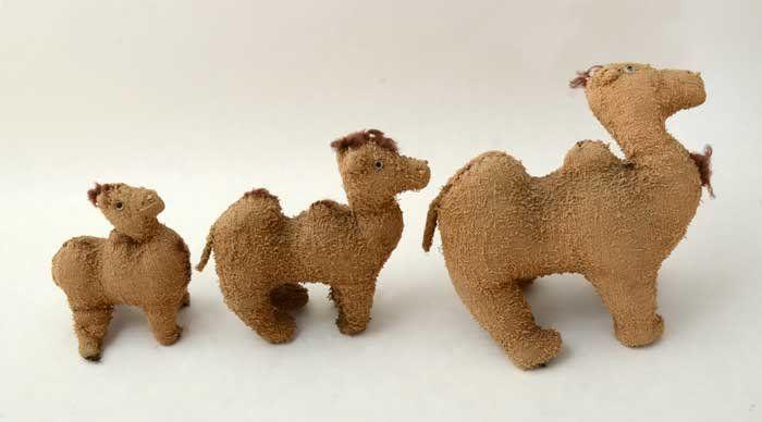 Homemade Camel Toys Circa 1920
