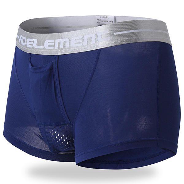 Men/'s Trunks Boxer Briefs Modal Underwear Separation Pouch U Convex Underpants