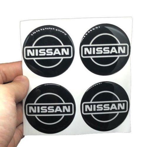 JDM 4pcs 56.5mm nismo center cap sticker Emblem Wheel Hub Cover Racing Sport